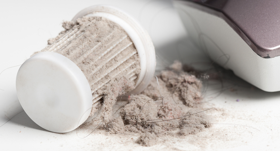 How to clean an air purifier filter