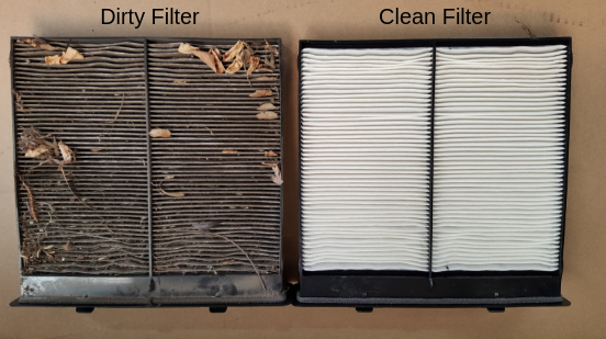 Air Dirty Filter